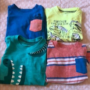 4 PC 3m tees carters okie dokie
